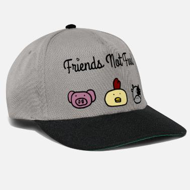 Friends Friends Not Food c - Snapback Cap