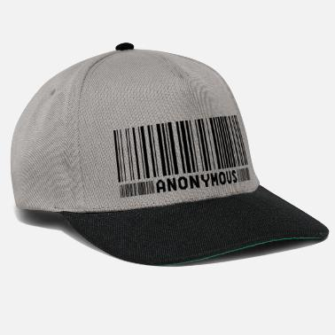 We Do Not Forgive Anonymous Barcode - We Are Legion - Shirt - Snapback Cap