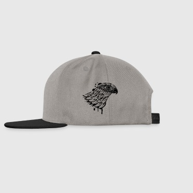 head of falcon - Snapback cap