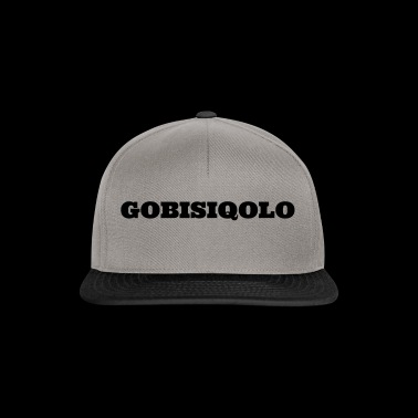 Gobisiqolo South Africa Gqom Music Dancing - Snapback Cap
