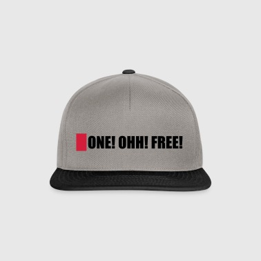 ONE! OHH! GRATUIT! - Casquette snapback