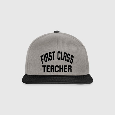 First Teacher Class - Snapback cap