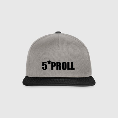 5 Sterne Proll - Snapback Cap