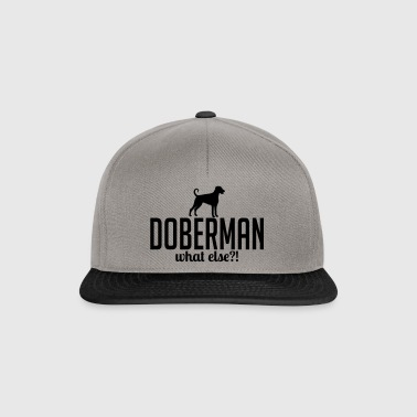 whatelse DOBERMAN - Gorra Snapback