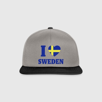Love Sweden - Snapback-caps