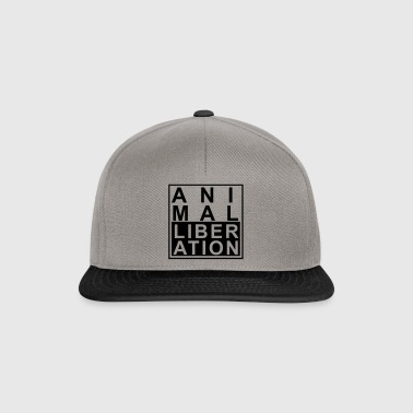 Animal liberation - Snapback Cap