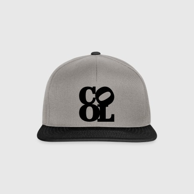 cool homage to Robert Indiana schwarz innen - Snapback Cap