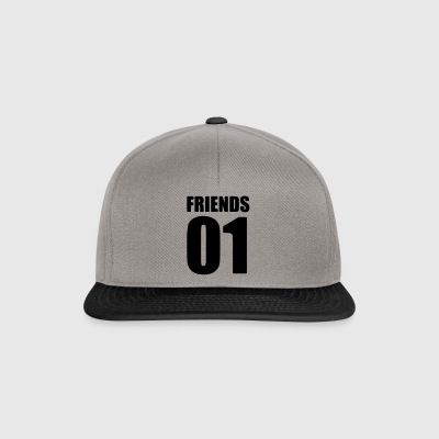 Friends Shirt - best friend - beste Freunde Shirt - Snapback Cap