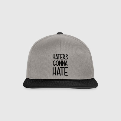Haters gonna hate leak me! Shit what the hell - Snapback Cap