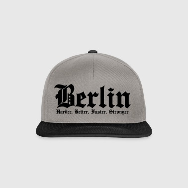 Berlin Harder Better Faster Stronger - Snapback Cap