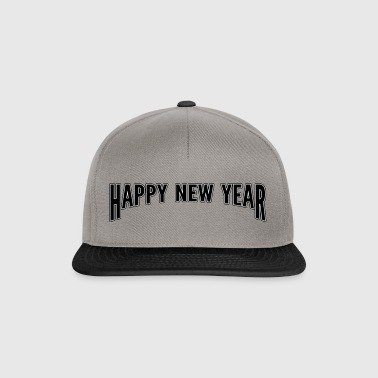 Happy new year - Snapback Cap