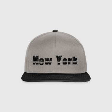 New York - Snapback Cap