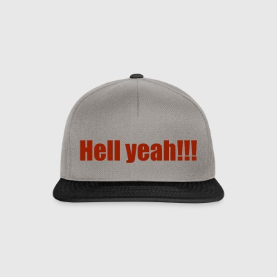 Hell Yeah !!! - Casquette snapback