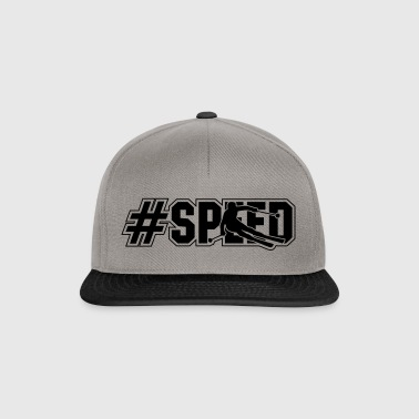 speed ski alpine - Snapback Cap