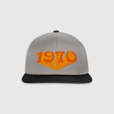 1970 starship orange - Snapback Cap