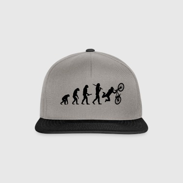 dirtbike evolution progress development - Snapback Cap