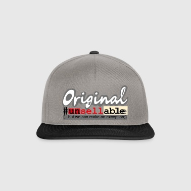 Original # not for sale - Cool funny wit - Snapback Cap