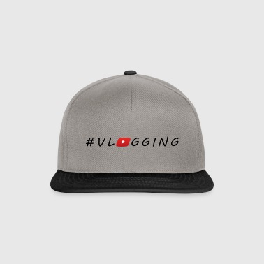 YouTube #Vlogging - Snapback cap