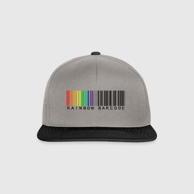 Rainbow barcode - Casquette snapback