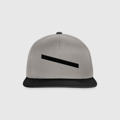 striber sort - Snapback Cap