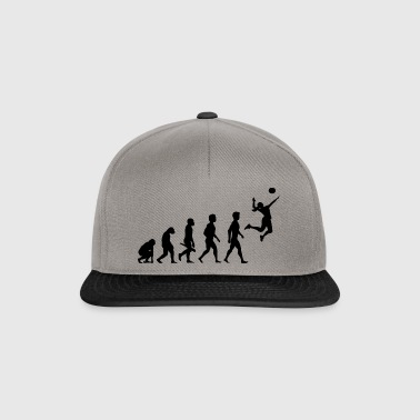 Volleyball Spieler Volleyballspieler Evolution - Snapback Cap