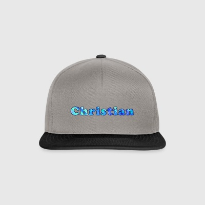 Name: Christian - Snapback Cap
