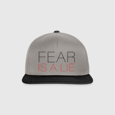 Fear is a Lie - Snapback Cap