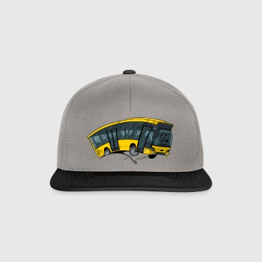 0712 bus yellow - Snapback Cap