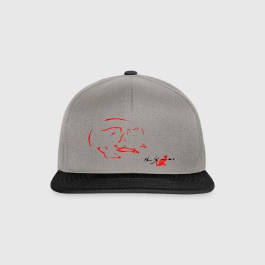 VOLPE ROSSA,FOX,RED FOX, VOLPE,VOLPE CHE DORME, - Snapback Cap