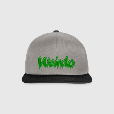 Green Gloop Weirdo - Snapback Cap