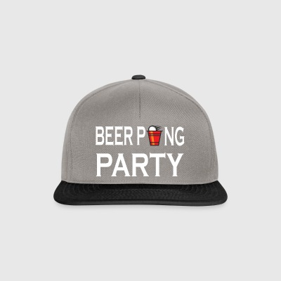 Beer Pong Party drinking game - Snapback Cap