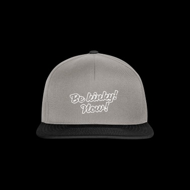 Proverbs command gift experiment vintage different - Snapback Cap