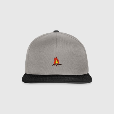 Fire color fire - Snapback Cap