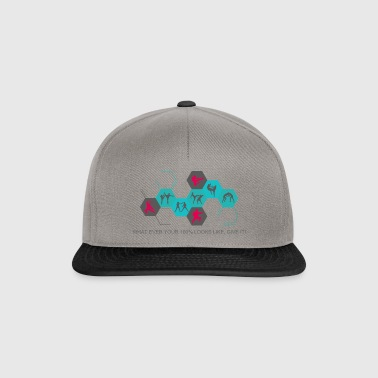 Fighting silhouettes - Snapback Cap