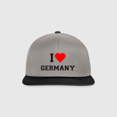 I love Germany - Snapback Cap