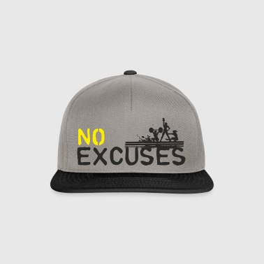No Excuses - sport is geen moord - Snapback cap
