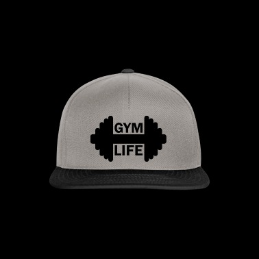 Dumbbell Gym Life Fitness Gainz Biceps - Snapback cap