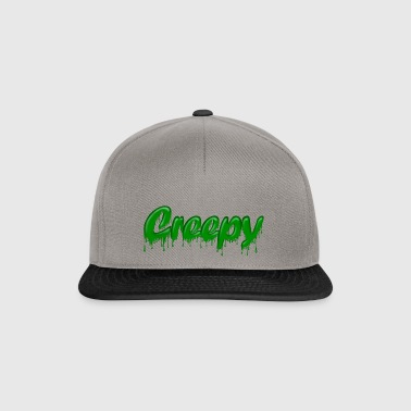 Green Gloop Creepy - Snapback Cap