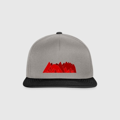 förenklade Mountains - Snapbackkeps