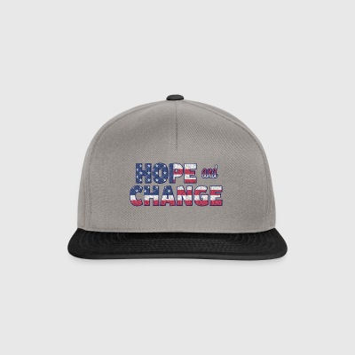 Hope and Change - Snapback Cap