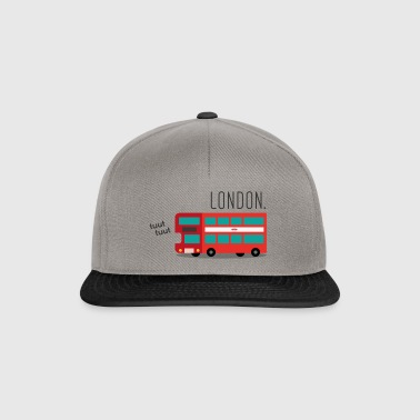 The Red London Bus - Snapback Cap