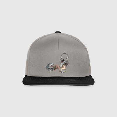 Serpent with wife - Snapback Cap