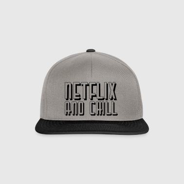 Netflix and Chill - Casquette snapback