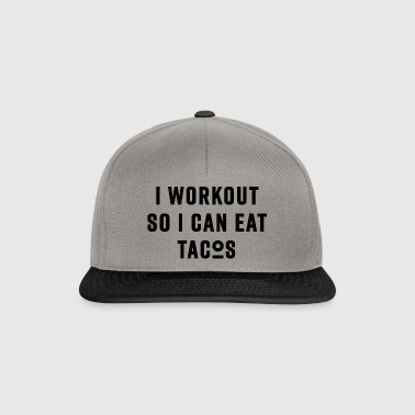 WORKOUT - black - Snapback Cap