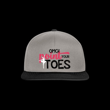 Ballet Gift OMG! Point Your Toes - Snapback Cap