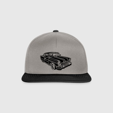 Chevy Cadilac / Muscle Car 02_black - Snapback Cap