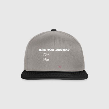 Are you drunk? - Snapback Cap