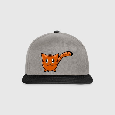Tiger Cartoon - Snapback Cap