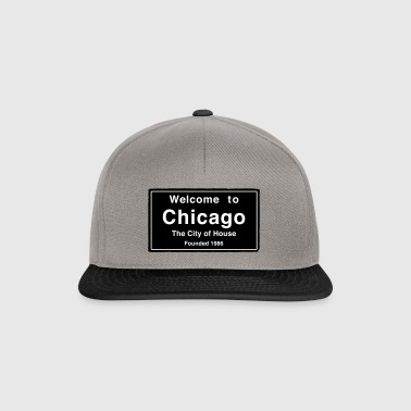 Chicago The City of House - Czapka typu snapback