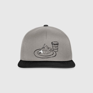 coffee and cake - Snapback Cap